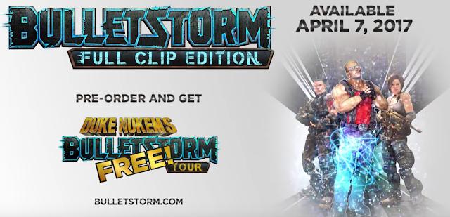 Se anuncia BulletStorm remasterizado con Duke Nukem como invitado especial