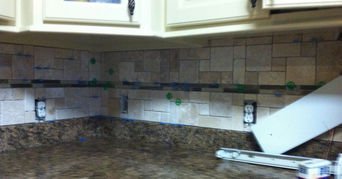 Kitchen Backsplash Without Upper Cabinets