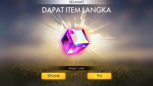 Magic Cube Free Fire