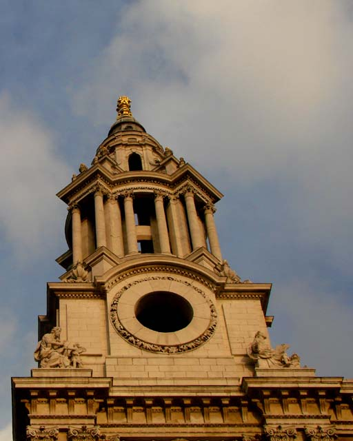 st. paul's cathedral west front tower london