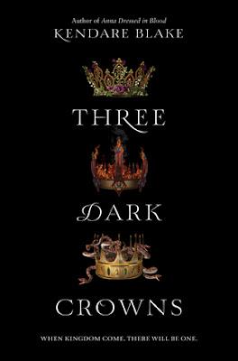 Insane about books three dark crowns by kendare blake review fandeluxe Gallery