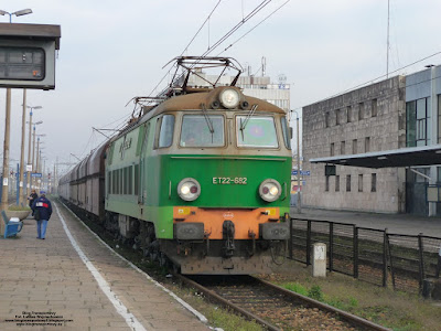 Lokomotywa ET22-682, PKP Cargo, stacja Oświęcim