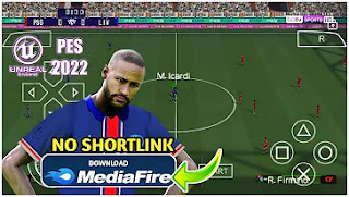 Download eFootball PES 2022 PPSSPP Android Season Update V1.0 MOD PC PS4 & Best Graphics HD