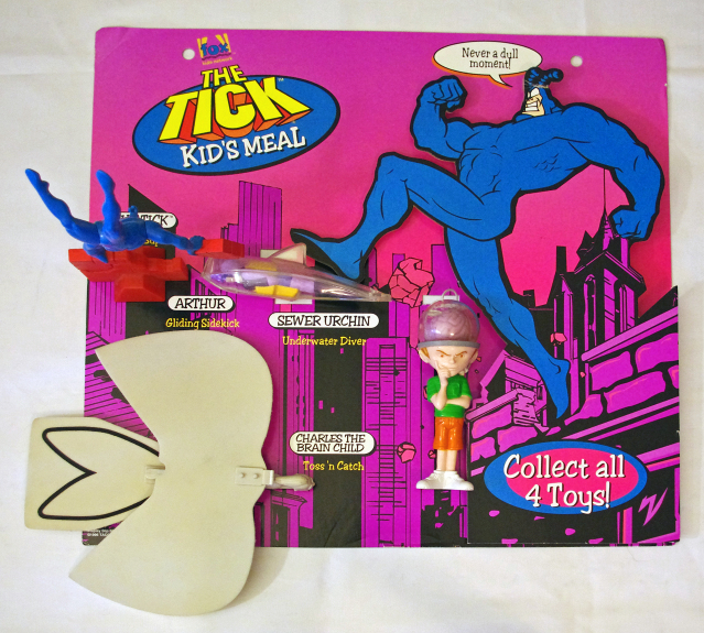 The Tick Taco Bell Kid's Meal Toys