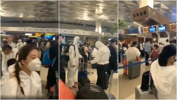 Viral Video Tim Medis dari China Datang ke Indonesia, Ini Kata Imigrasi