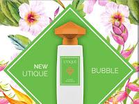 Telah hadir di Indonesia Varian Baru Parfum Premium Utique Bubble, Utique Ambre Royal dan Utique Violet Oud