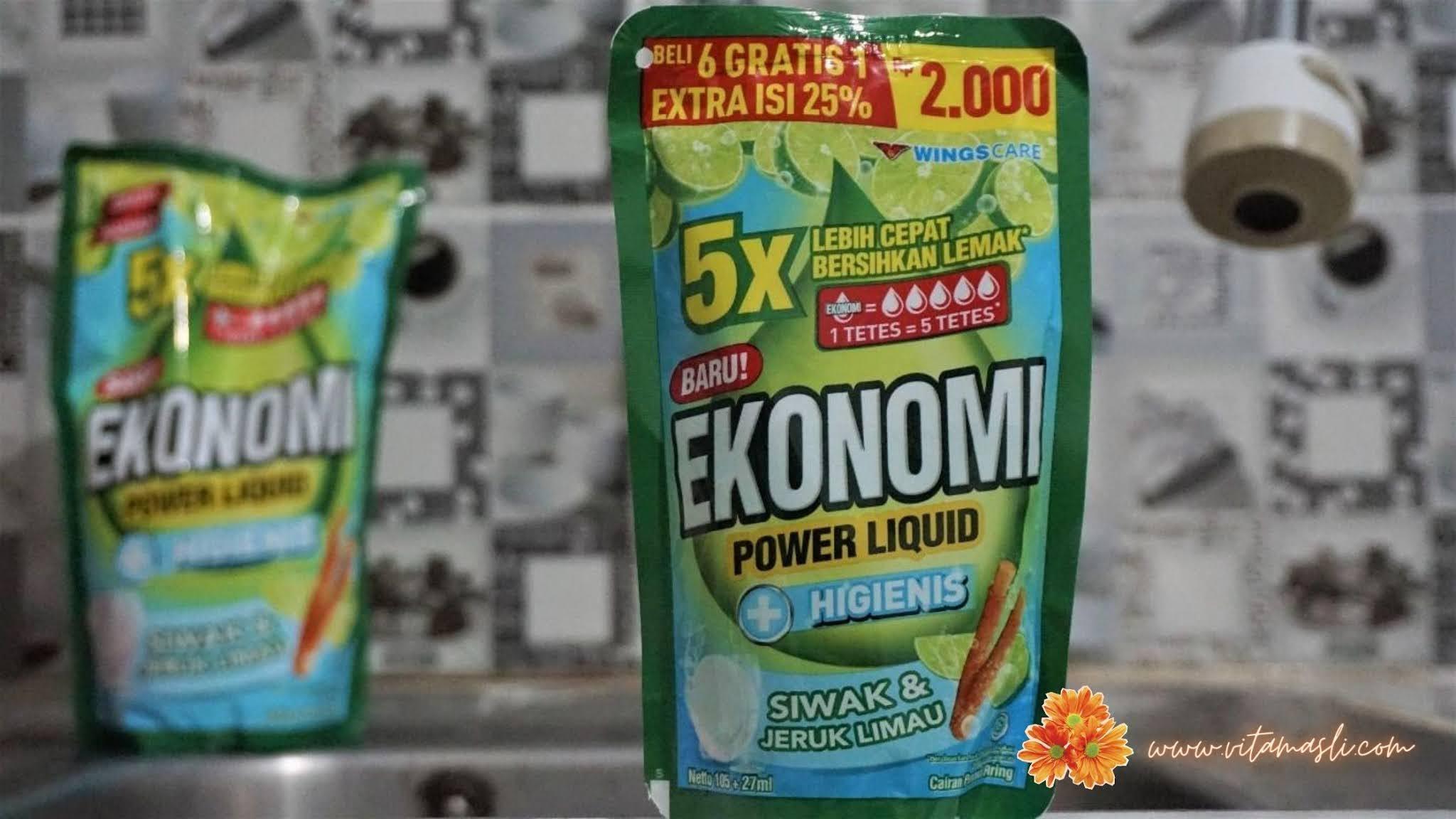 Ekonomi Power Liquid Limau Siwak