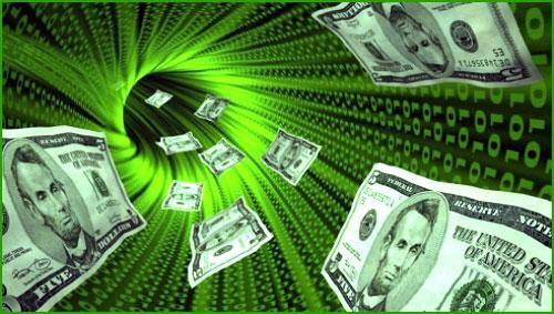 النقود الإلكترونية الرقمية