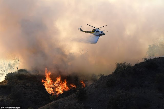 California Wild Fire: Kanye West, Kim, Lady Gaga & 250,000 More Forced To Evacuate Homes (Photos)