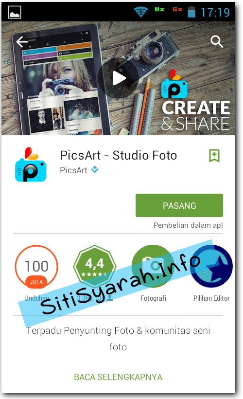Aplikasi Edit Photo Android Terbaru