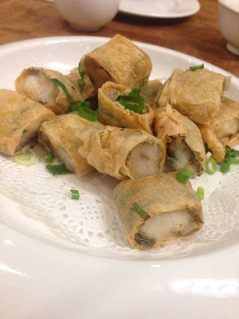 腐皮黃魚卷