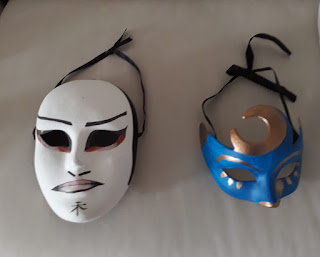 Máscaras Raquel Barnatan.
