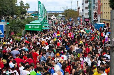 Resultado de imagen de chiringuito carnaval vegueta
