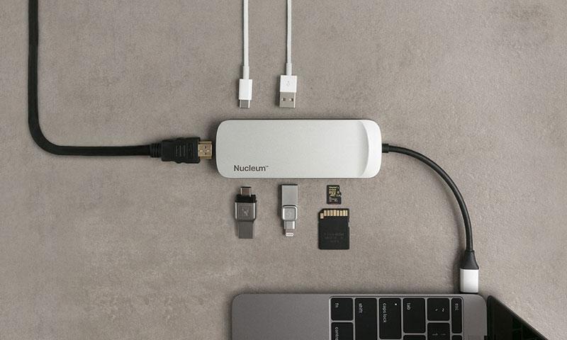 محول USB-C 7