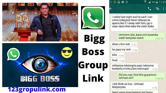 Join 300+ Bigg Boss Whatsapp Group Links 2020