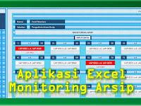 Aplikasi Excel Monitoring Arsip