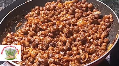 Black Chickpeas Dry Roast