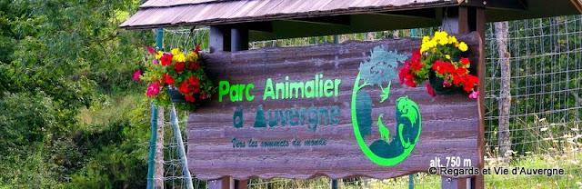 Parc animalier d'Auvergne, entrée