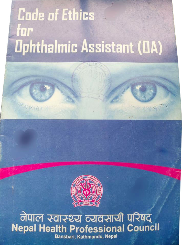 Code of Ethics for Ophthalmic Assistant
