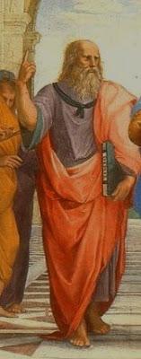 """Platone (partic. della """"Scuola di Atene"""" di Raffaello)"""