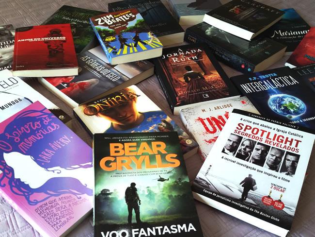 livros parceria