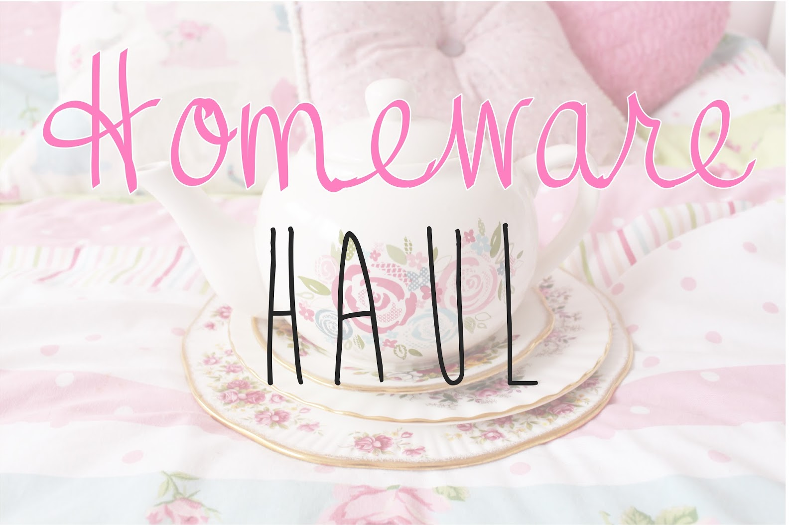 Homeware Haul 2014 Dunelm Mill