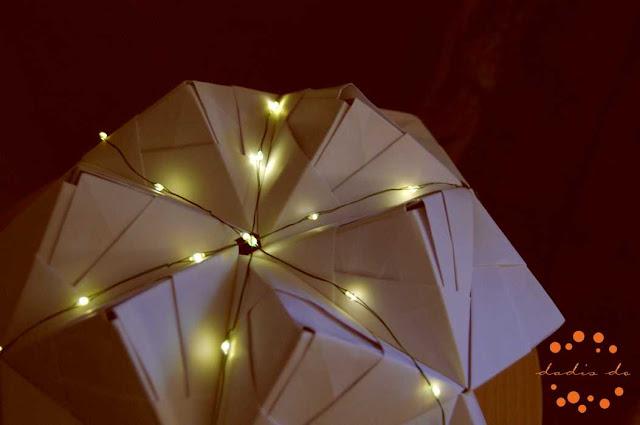 Origami art / LED Laight