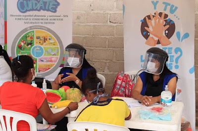 https://www.notasrosas.com/ Malteser Internacional y Alcaldía de Riohacha realizan Jornadas Humanitarias de Salud