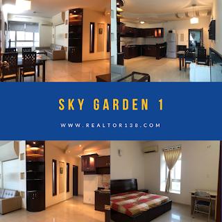 căn hộ 2 phòng ngủ chung cư Sky Garden 1 đường Nguyễn Văn Linh phường Tân Phong