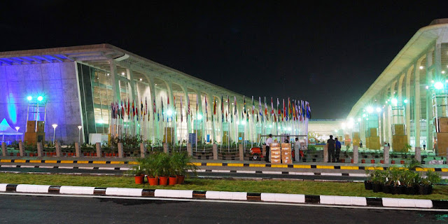 Vibrant Gujarat Startup and Technology Summit Kicks Off | Image Attribute: The Exhibition Center, Gandhinagar, INDIA