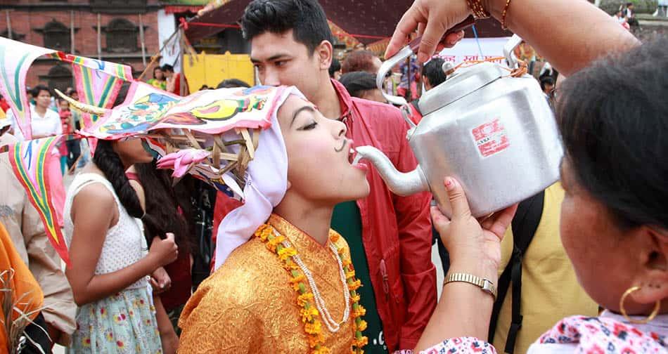 Cow Festival,Gai Jatra, Religion, Cow Festival in Nepal,King Pratap,Malla,What is Cow Festival,What is Gai Jatra?