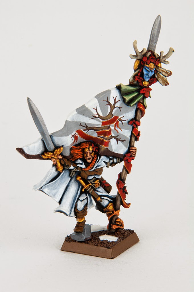 Showcase Wood Elves Limited Edition Battle Standard