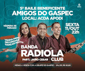 RADIOLA CLUB NO 5º BAILE DO GASPEC!