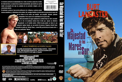 Cover, dvd, caratula:Su Majestad de los mares del sur | 1954 | His Majesty O'Keefe