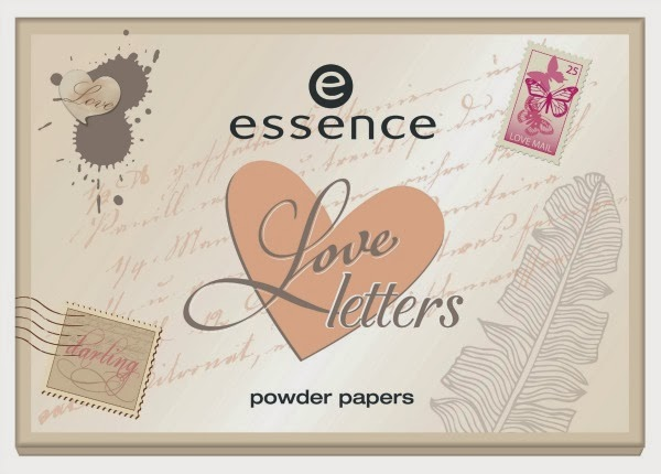 essence love letters – powder papers