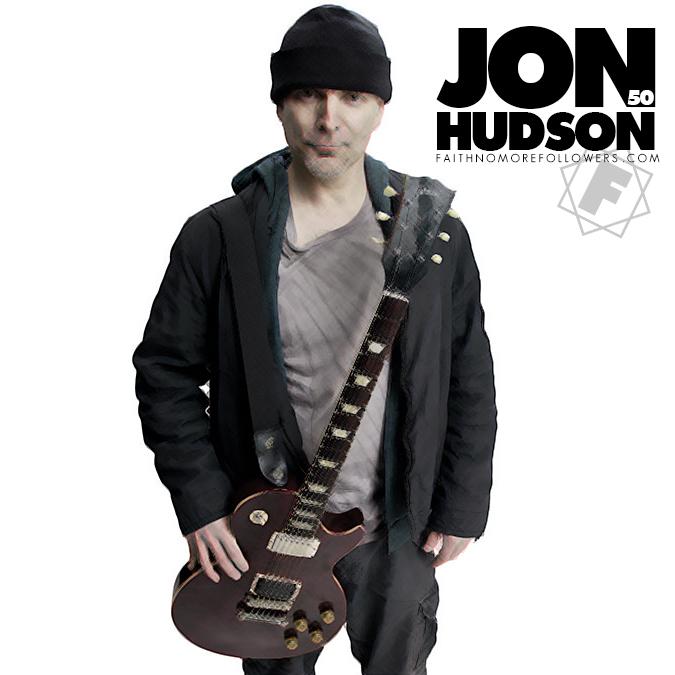 JON HUDSON His history with Faith No More Jon Gould Guitar
