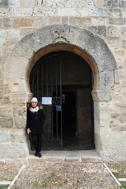 Portada de San Juan de Baños, Palencia