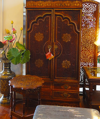 Thai style rosewood furniture