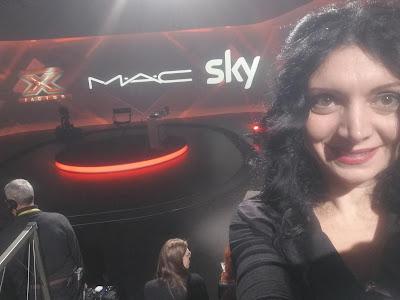 """Master Class MAC Cosmetics PRO """"Trucco Televisico ad Alta Risoluzione"""" - Sky - X Factor"""