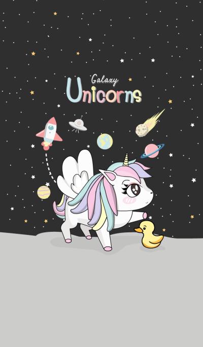 Unicorn On Galaxy