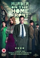 "Carátula del DVD: ""Murder on the Home Front"""