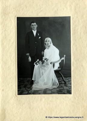 Photo de mariage noir et blanc, Modern photo Adam saint éloy les mines