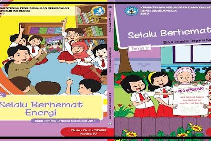 Buku Siswa K13 Kelas 4 Tematik SD/MI Revisi
