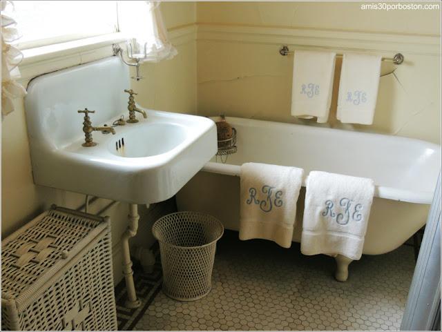 Casa de Nacimiento de Jonh F. Kennedy: Cuarto de Baño
