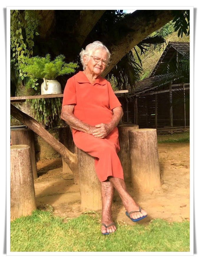 Feliz Dia dos Avós! Vovó Zilda, a melhor do mundo!
