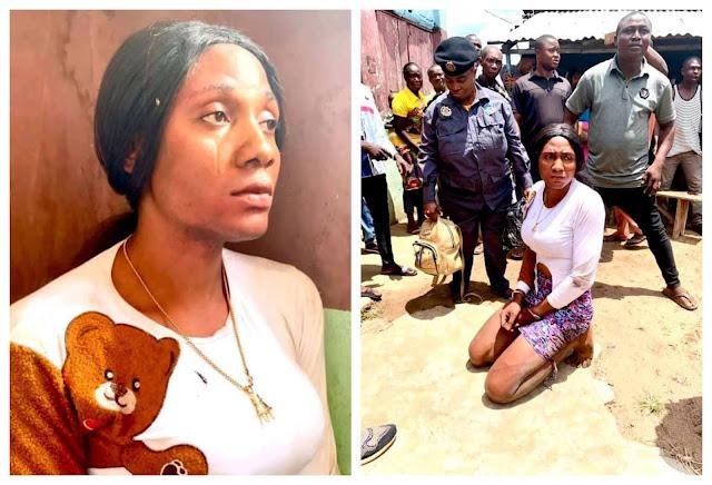 Bobrisky, you sabi he/she? - Governor Yahaya Bello's media aide asks as he shares photos of a crossdresser arrested in Kogi (video)