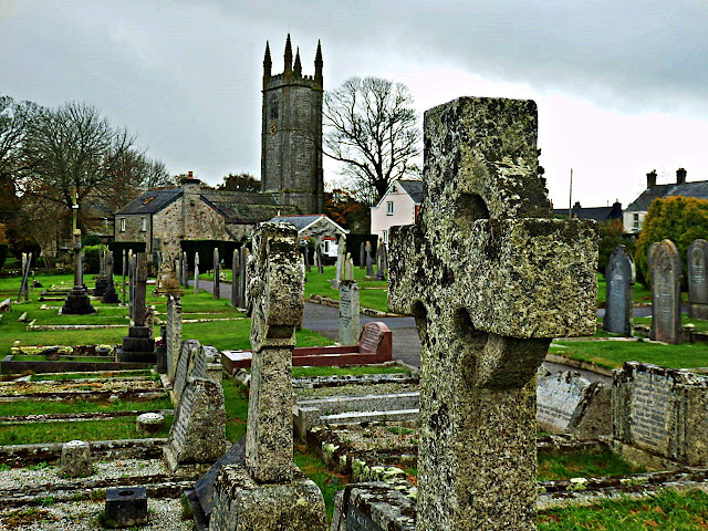 Church at St.Stephen-in-Brannel, Cornwall