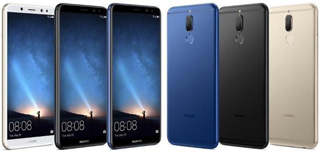 شركة هواوي - Huawei تصدر هاتف جديد Mate 10 Lite بأربع كاميرات وشاشة عرض 18:9 ثمنه 379 دولار