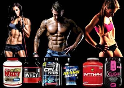 Proteínas en polvo para ganar masa muscular