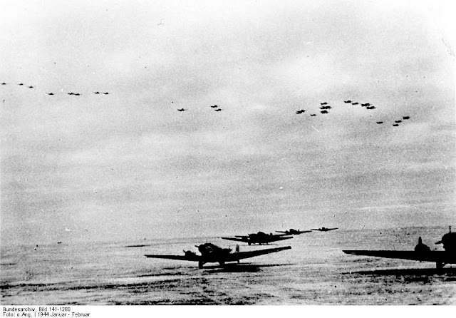 German Stuka Dive Bombers (JU-87) Korsun airfield